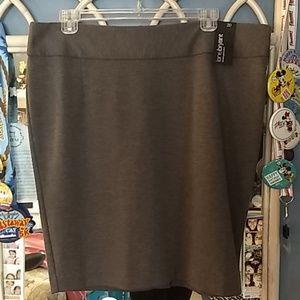 Gray Pencil skirt LB sz 20 NWT